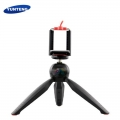 Yunteng 228 Mini Tripod with Phone Holder Clip Desktop Self-Tripod For SLR Camera